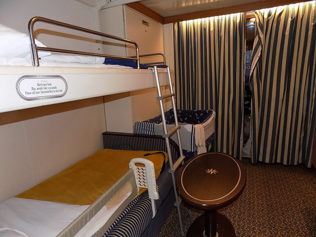 Cabin on Disney Fantasy