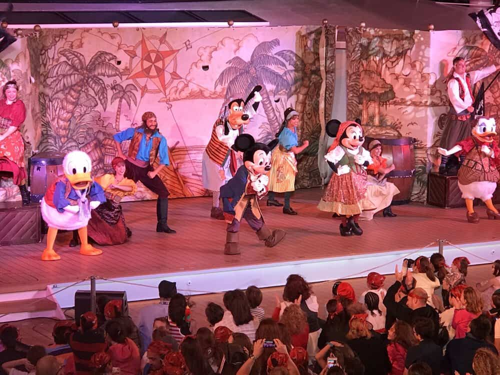 Pirate show disney by Adrian C