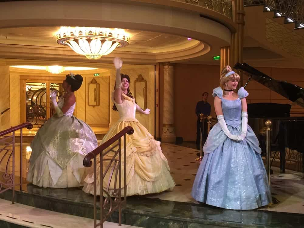 princesses on disney fantasy by shalini G