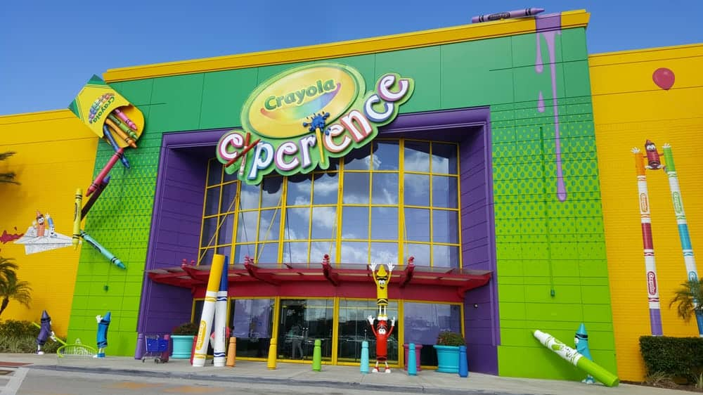 Image result for Crayola Experience Orlando pictures