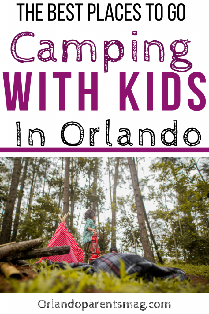 camping with kids orlando