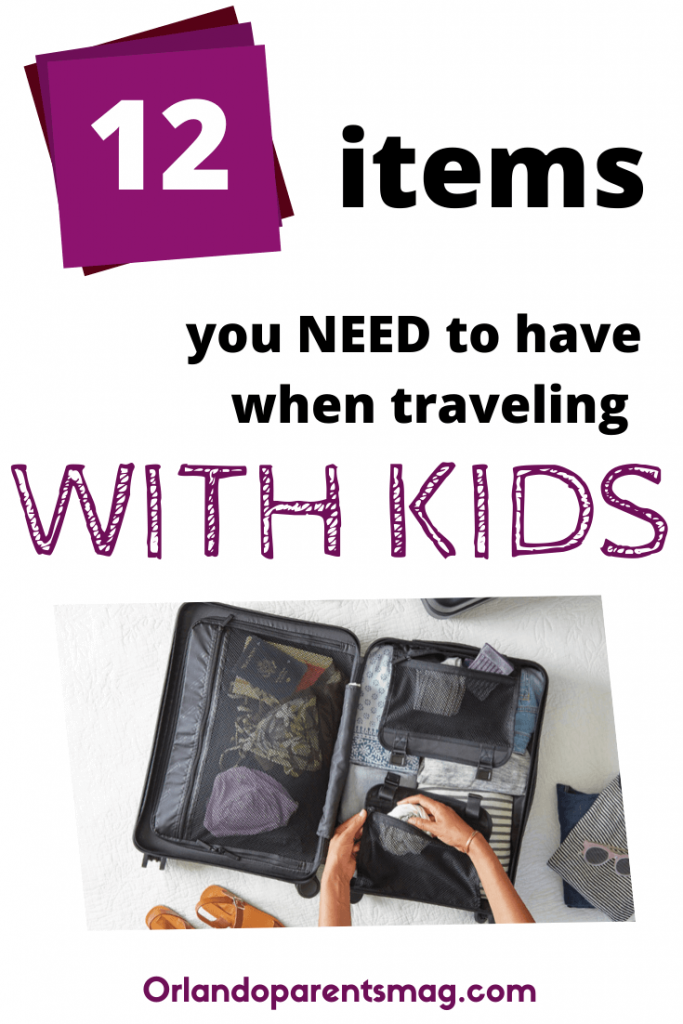what you need when traveling with kids